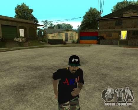 New Armenian Skin para GTA San Andreas twelth tela