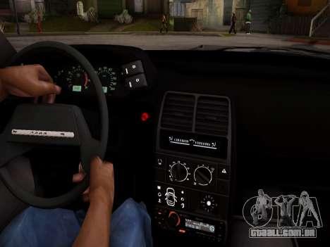 VAZ 2112 GVR qualidade para vista lateral GTA San Andreas