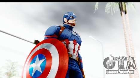 Marvel Heroes - Capitan America CW para GTA San Andreas