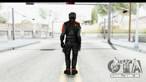 Homefront The Revolution - KPA v5 Black para GTA San Andreas terceira tela