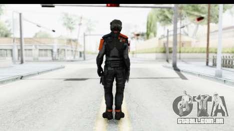 Homefront The Revolution - KPA v5 Black para GTA San Andreas terceira tela
