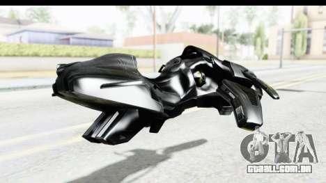 Spectre Hoverbike para GTA San Andreas esquerda vista