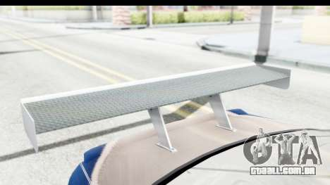 NFS Carbon - BMW M3 GTR para vista lateral GTA San Andreas