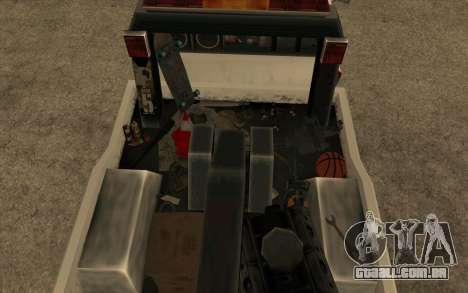 Novo reboque para GTA San Andreas vista direita