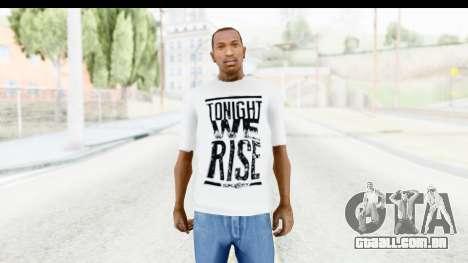 Nike Just Do It T-Shirt para GTA San Andreas