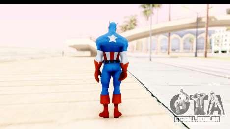 Marvel Heroes - Captain America para GTA San Andreas terceira tela