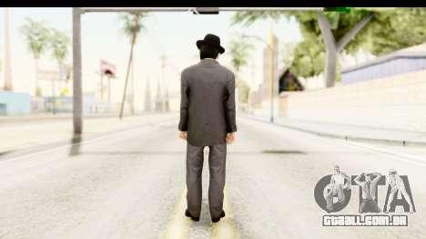 Al Capone para GTA San Andreas terceira tela