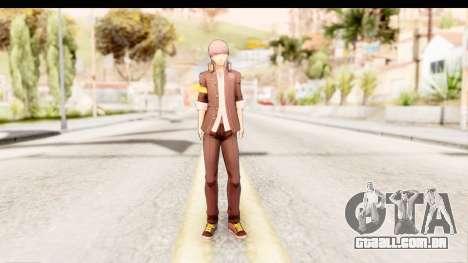 Persona 4: DAN - Yu Narukami Default Costume para GTA San Andreas segunda tela