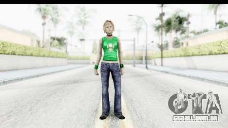 Silent Hill 3 - Heather Sporty Green Get A Life para GTA San Andreas segunda tela