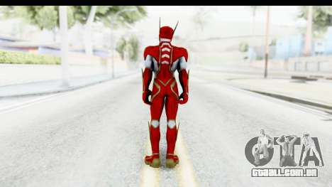 Flash Hypersonic (INFINITE CRISIS) para GTA San Andreas terceira tela
