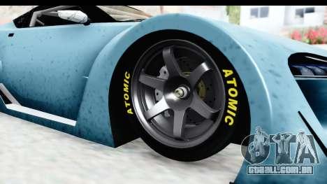 GTA 5 Emperor ETR1 v2 IVF para GTA San Andreas vista traseira