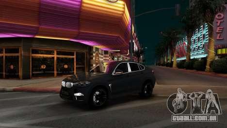 BMW X6M Bulkin Edition para GTA San Andreas esquerda vista