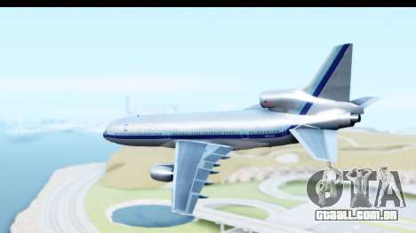 Lockheed L-1011-100 TriStar Eastern Airlines para GTA San Andreas esquerda vista