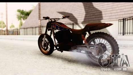 GTA 5 Western Cliffhanger Custom v2 IVF para GTA San Andreas esquerda vista