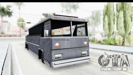 Towbus para GTA San Andreas vista direita