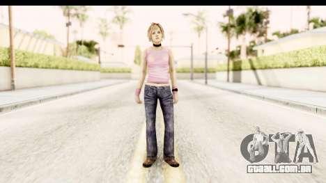 Silent Hill 3 - Heather Redone Less Gloomy para GTA San Andreas segunda tela