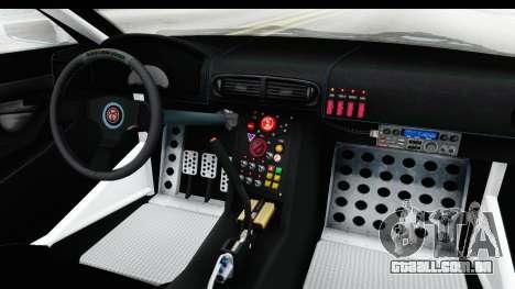 GTA 5 Emperor ETR1 v2 IVF para GTA San Andreas vista interior