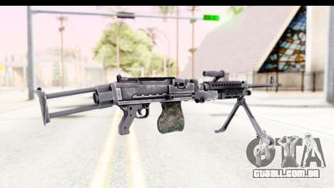 M240 FSK No Scope Bipod para GTA San Andreas segunda tela