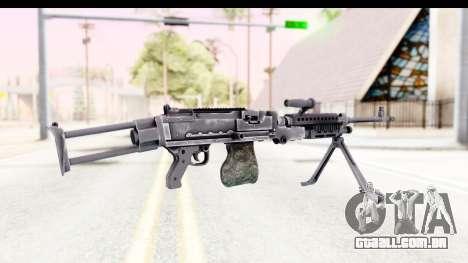 M240 FSK No Scope Bipod para GTA San Andreas segunda tela