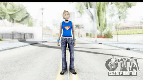 Silent Hill 3 - Heather Sporty Super Girl para GTA San Andreas segunda tela
