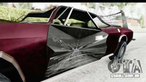 Tampa Daytona Kill para GTA San Andreas vista traseira