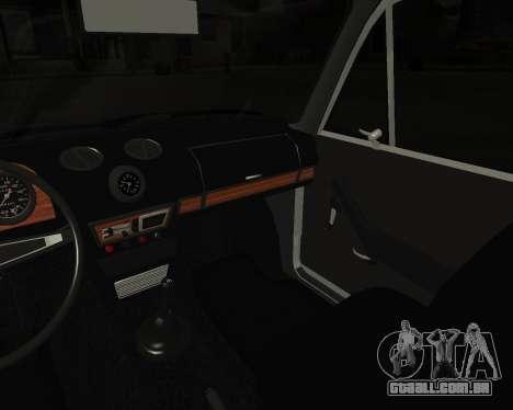 VAZ 2106 arménio para GTA San Andreas vista inferior