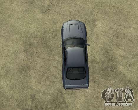 Nissan Skyline Armenia para GTA San Andreas vista interior