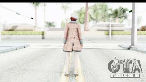 DoA 5 - Mila Casual para GTA San Andreas terceira tela