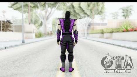 Mortal Kombat vs DC Universe - Rain para GTA San Andreas terceira tela