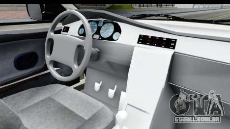 Ikco Samand Pickup v1 para GTA San Andreas vista interior