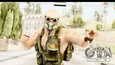 CrimeCraft Male Rogue para GTA San Andreas