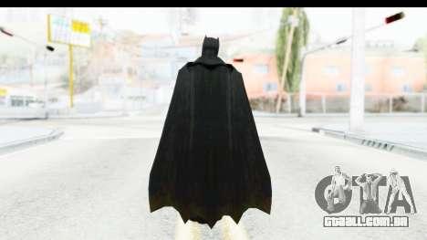 Injustice God Among Us - Batman BVS para GTA San Andreas terceira tela