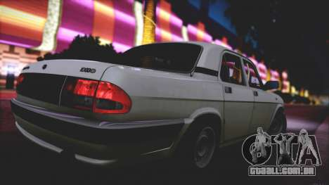 GAZ 3110 Escoamento de Qualidade para vista lateral GTA San Andreas