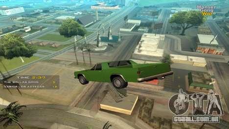 Cleo Jump Car para GTA San Andreas