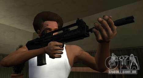 VHS 2 PayDay 2 para GTA San Andreas segunda tela