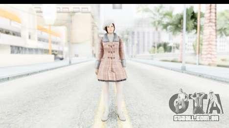 DoA 5 - Mila Casual para GTA San Andreas segunda tela