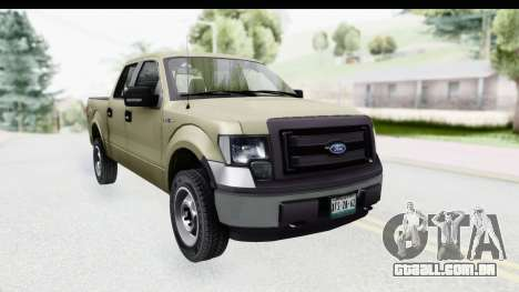 Ford F-150 Stock para GTA San Andreas vista direita