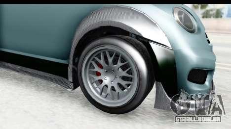GTA 5 Grotti Brioso RA IVF para GTA San Andreas vista traseira