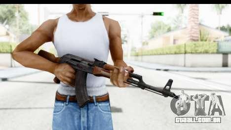 AKM 7.62 para GTA San Andreas terceira tela