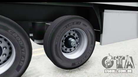 Trailer ETS2 v2 Old Skin 3 para GTA San Andreas vista traseira