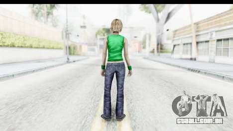 Silent Hill 3 - Heather Sporty Green Get A Life para GTA San Andreas terceira tela