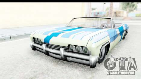 Blade New PJ para GTA San Andreas vista traseira