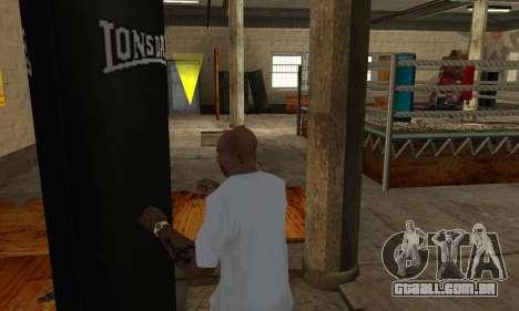 LonsDale saco de pancadas para GTA San Andreas quinto tela