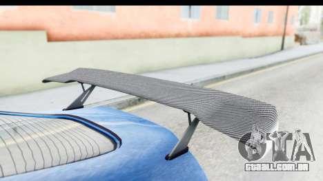 GTA 5 Dewbauchee Seven 70 para GTA San Andreas vista interior