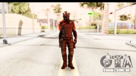 Homefront The Revolution - KPA v2 Black para GTA San Andreas segunda tela