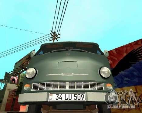 Eraz 762 Armenian para GTA San Andreas esquerda vista