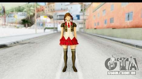 DoA 5 - Lei Fang Pop Idol para GTA San Andreas segunda tela