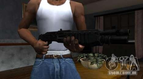 SPAS-12 Black Mesa para GTA San Andreas segunda tela