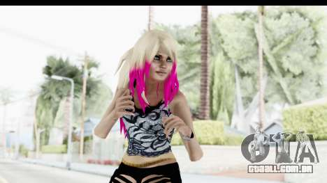 Summer Ombre Hair para GTA San Andreas