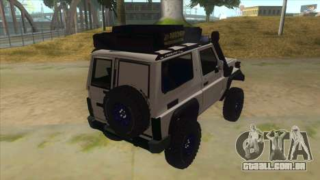 Toyota Machito Semi Off Road para GTA San Andreas vista direita